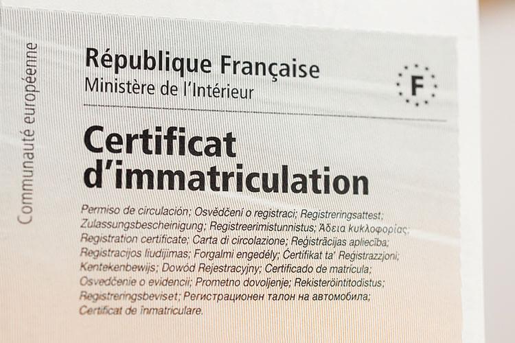 Comprendre mon certificat d'immatriculation - Heyme