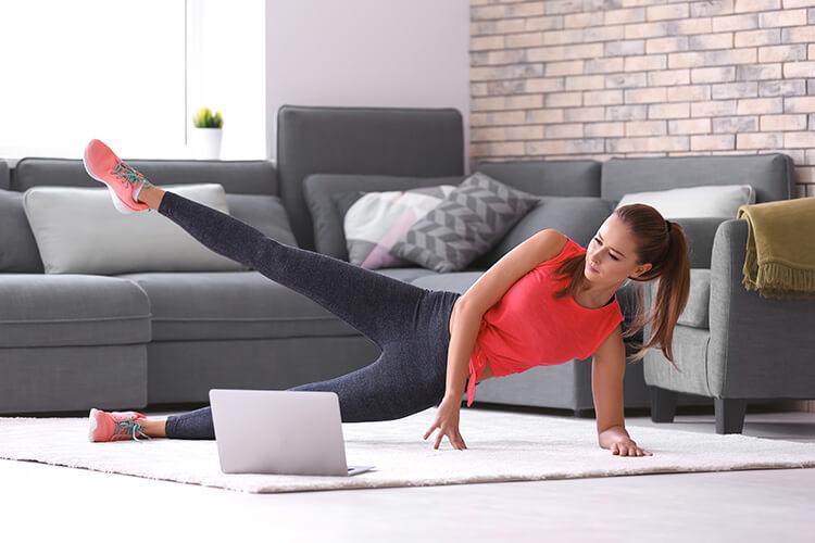 Exercices sportifs pour garder la forme et se défouler à la maison - Heyme