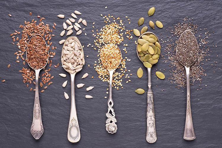 TOP 5 des graines pour être en forme ! - Heyme