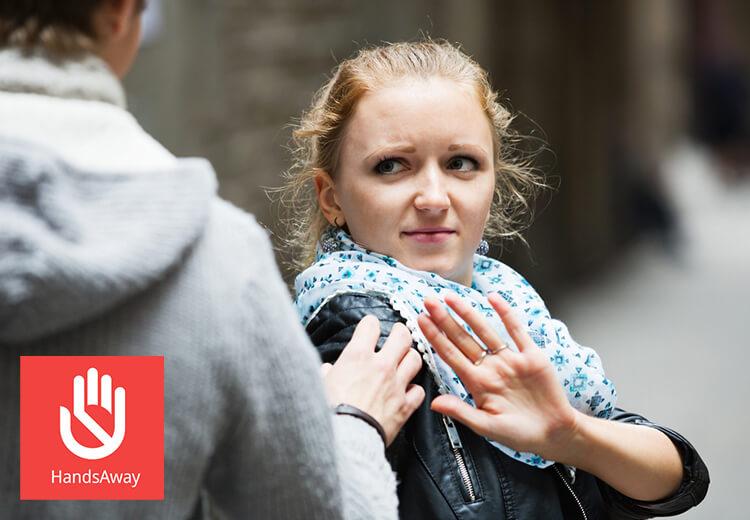 HandsAway, l'appli anti-harcèlement - Heyme