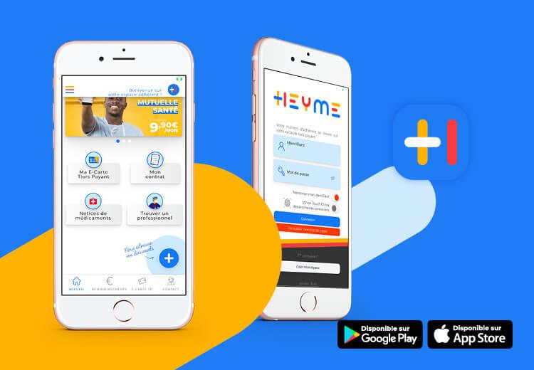 L'application HEYME, l'assurance mobile où que tu sois! - Heyme